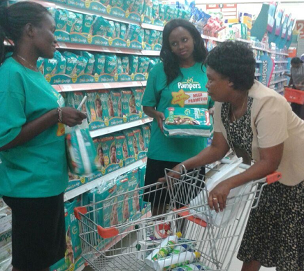 Pampers In-store Activation